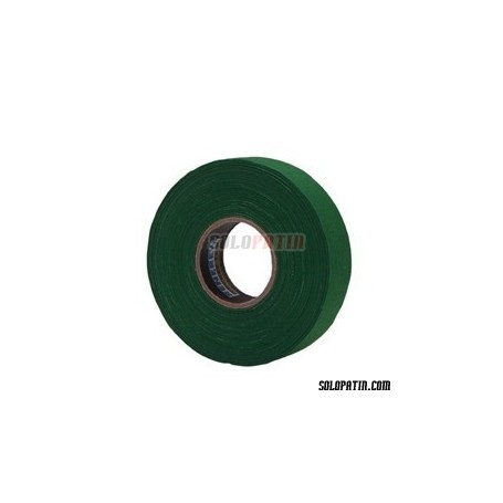 Green Ribbon Tape Hockey Sticks