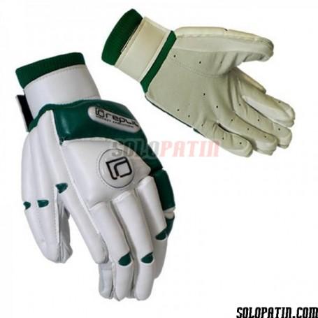 Guantes Hockey Replic R-10 Blanco / Verde