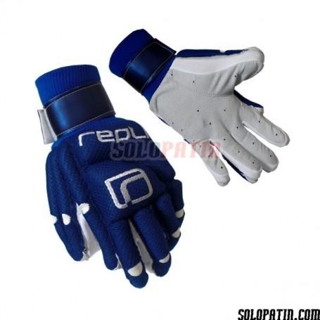 Guantes Hockey Replic R-10 Plus Azul