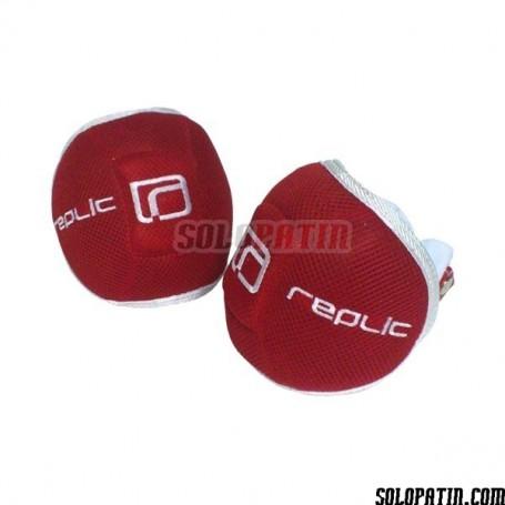 Rodilleras Hockey Replic R-10 Plus Rojo