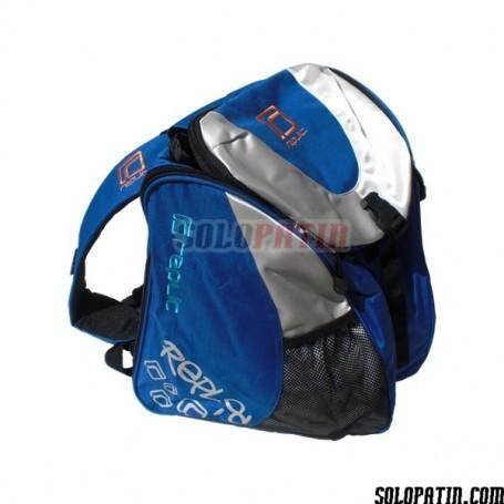 Mochila Portapatines Replic Azul / Plata