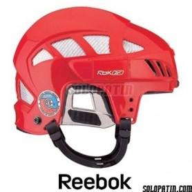 Casco Hockey Reebok 6K Rojo