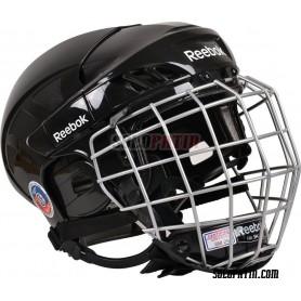 Rollhockey Helm Reebok 5K Schwarz