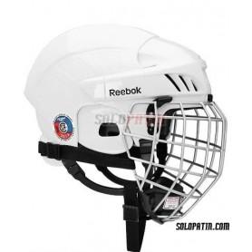 Casco Hockey Reebok 3K COMBO Blanco
