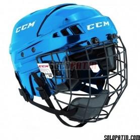 Casco Hockey CCM V-04 COMBO Azul
