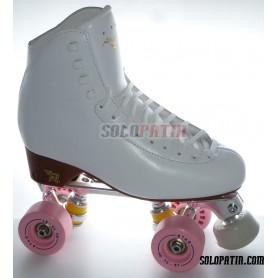 Figure Quad Skates STAR B1 Frames RISPORT ANTARES Boots BOIANI STAR Wheels