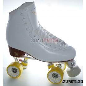 Figure Quad Skates STAR B1 Frames RISPORT ANTARES Boots KOMPLEX ANGEL Wheels