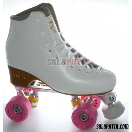 Figure Quad Skates EDEA BRIO Boots STAR B1 Frames ROLL-LINE BOXER Wheels