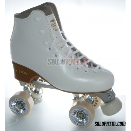 Patins Complets Artistique Bottines NELA Platines STAR B1 Roues ROLL-LINE GIOTTO