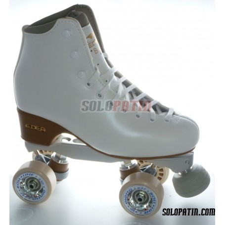 Patins Complets Artistique Bottines EDEA BRIO Platines BOIANI STAR RK Roues ROLL-LINE GIOTTO