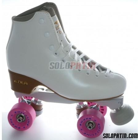 Figure Quad Skates EDEA BRIO Boots BOIANI STAR RK Frames ROLL-LINE BOXER Wheels