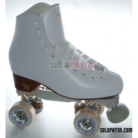Patins Complets Artistique Bottines RISPORT VENUS Platines BOIANI STAR RK Roues ROLL-LINE GIOTTO