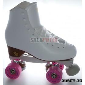Figure Quad Skates RISPORT VENUS Boots BOIANI STAR RK Frames ROLL-LINE BOXER Wheels