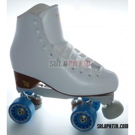 Figure Quad Skates RISPORT VENUS Boots BOIANI STAR RK Frames KOMPLEX IRIS Wheels