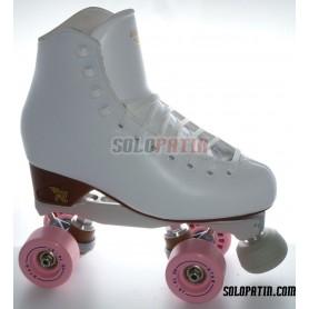 Figure Quad Skates BOIANI STAR RK Frames RISPORT VENUS Boots BOIANI STAR Wheels