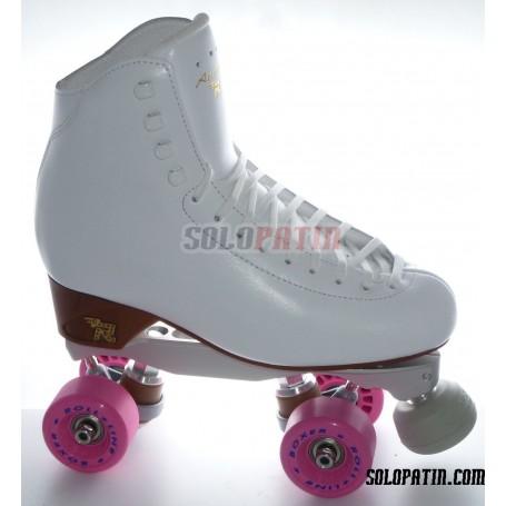 Figure Quad Skates RISPORT ANTARES Boots BOIANI STAR RK Frames ROLL-LINE BOXER Wheels