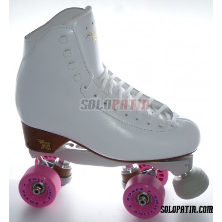 Patins Complets Artistique Bottines RISPORT ANTARES Platines BOIANI STAR RK Roues ROLL-LINE BOXER