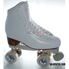 Figure Quad Skates RISPORT ANTARES Boots BOIANI STAR RK Frames ROLL-LINE GIOTTO Wheels