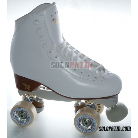 Figure Quad Skates RISPORT ANTARES Boots BOIANI STAR RK Frames ROLL-LINE GIOTTO Wheels