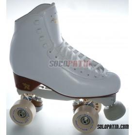 Figure Quad Skates RISPORT ANTARES Boots BOIANI STAR RK Frames ROLL-LINE MAGNUM Wheels
