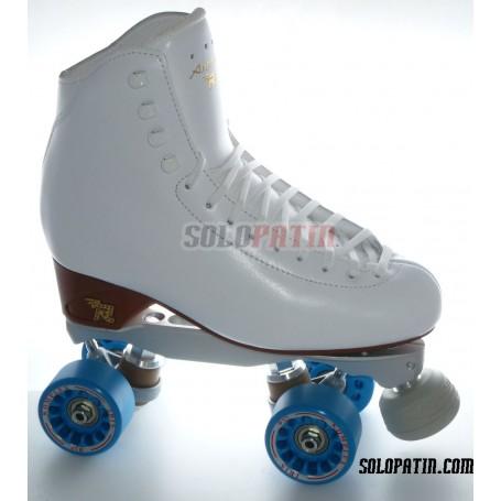 Figure Quad Skates RISPORT ANTARES Boots BOIANI STAR RK Frames KOMPLEX IRIS Wheels