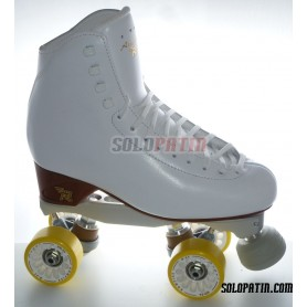 Figure Quad Skates BOIANI STAR RK Frames RISPORT ANTARES Boots KOMPLEX ANGEL Wheels