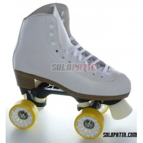 Figure Quad Skates ROLL-LINE VARIANT F Frames NELA Boots KOMPLEX ANGEL Wheels