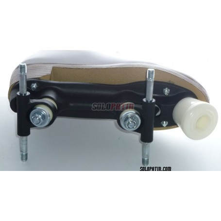Figure Quad Skates NELA Boots ROLL-LINE VARIANT F Frames ROLL-LINE BOXER Wheels