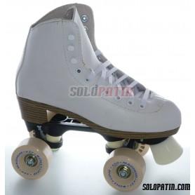 Figure Quad Skates NELA Boots ROLL-LINE VARIANT F Frames ROLL-LINE MAGNUM Wheels
