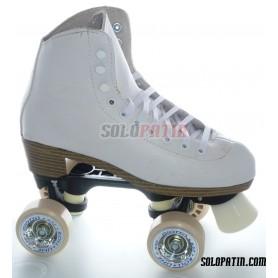 Figure Quad Skates NELA Boots BOIANI STAR RK Frames ROLL-LINE GIOTTO Wheels