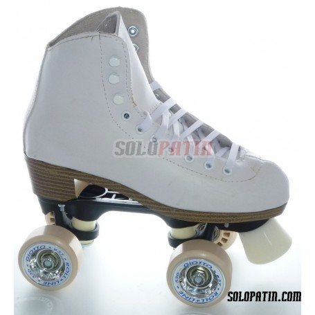 Patins Complets Artistique Bottines NELA Platines BOIANI STAR RK Roues ROLL-LINE GIOTTO