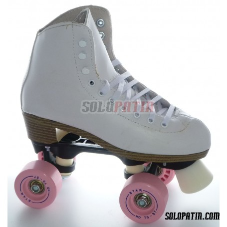 Patins Complets Artistique ROLL-LINE VARIANT F Bottines NELA Roues BOIANI STAR
