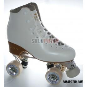 Figure Quad Skates EDEA BRIO Boots Aluminium Frames ROLL-LINE GIOTTO Wheels
