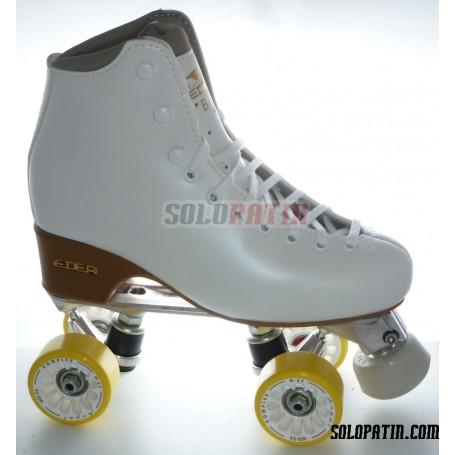 Figure Quad Skates Aluminium Frames EDEA BRIO Boots KOMPLEX ANGEL Wheels