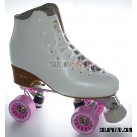 Figure Quad Skates EDEA BRIO Boots Aluminium Frames KOMPLEX FELIX Wheels