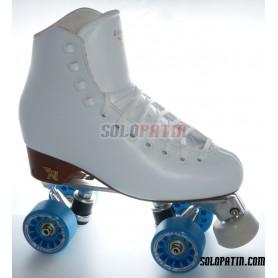 Figure Quad Skates RISPORT VENUS Boots Aluminium Frames KOMPLEX IRIS Wheels