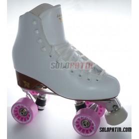 Figure Quad Skates RISPORT VENUS Boots Aluminium Frames KOMPLEX FELIX Wheels