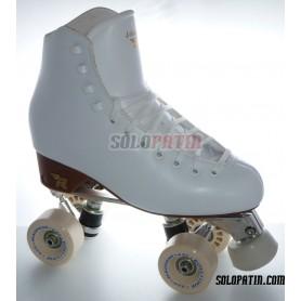 Figure Quad Skates RISPORT VENUS Boots ATLAS EK Frames ROLL-LINE MAGNUM Wheels