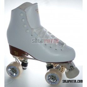 Figure Quad Skates RISPORT VENUS Boots ATLAS EK Frames ROLL-LINE GIOTTO Wheels
