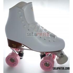 Figure Quad Skates ATLAS EK Frames RISPORT VENUS Boots BOIANI STAR Wheels