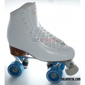Figure Quad Skates RISPORT ANTARES Boots ATLAS EK Frames KOMPLEX IRIS Wheels
