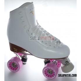 Figure Quad Skates RISPORT ANTARES Boots ATLAS EK Frames KOMPLEX FELIX Wheels