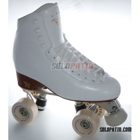Patins Artístic Botes RISPORT ANTARES Platines Alumini Rodes ROLL-LINE MAGNUM