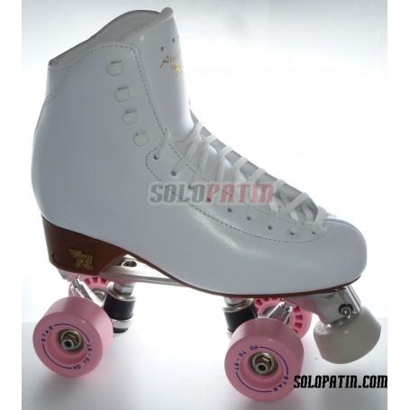 Figure Quad Skates ATLAS EK Frames RISPORT ANTARES Boots BOIANI STAR Wheels
