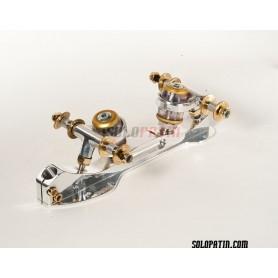 Telai Pattinaggio Artistico Libero Roller Skates Professional Titanio