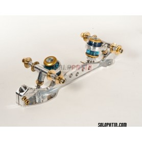 Patins Patinagem Artística Livre Roller Skates Cristal Titanio
