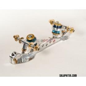 Telai Pattinaggio Artistico Libero Roller Skates Cristal Titanio