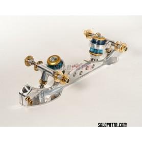 Patins Patinagem Artística Livre Roller Skates Professional Shark Steel