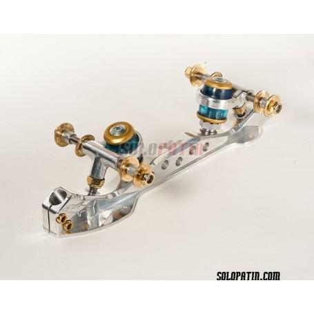 Platines Patinatge Artístic Lliure Roller Skates Professional Shark Steel