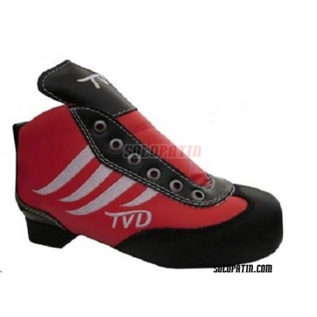 Scarpa Hockey TVD COOL ROSSO - BIANCO